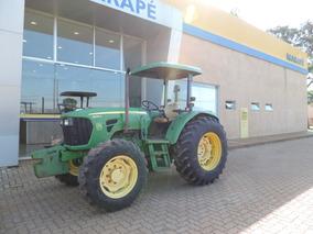 Trator John Deere, Modelo 5085 4x4, 75 Cv, Ano 2012.