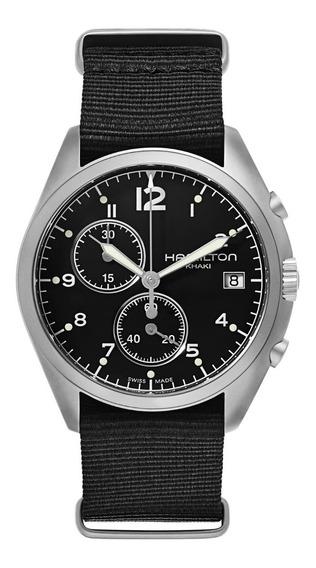 Relógio Hamilton Pilot Pioneer Chrono H76552433