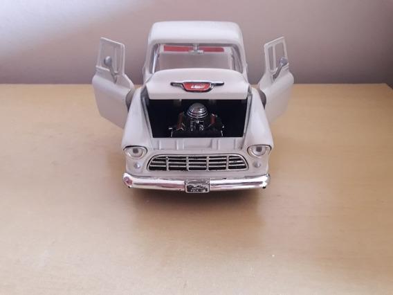 Miniatura Chevrolet Pick Up 1955 Escala 1/24