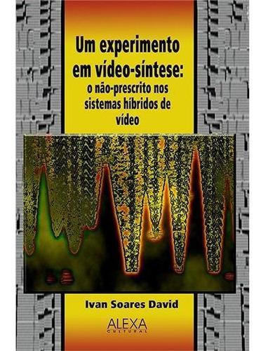 Imagem 1 de 1 de Um Experimento Em Vídeo-síntese