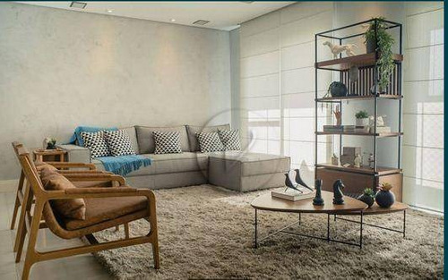 Apartamento Com 2 Dormitórios À Venda, 106 M² Por R$ 785.000,00 - Vila Guiomar - Santo André/sp - Ap10105