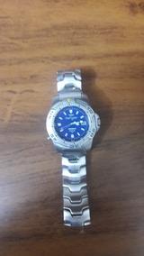 Relógio Timex Fundo Azul
