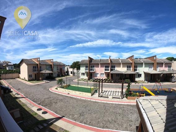 Oportunidade Excelente Casa Duplex Em Condomínio Fechado 2 Quartos Em Planície Da Serra - Ca0131