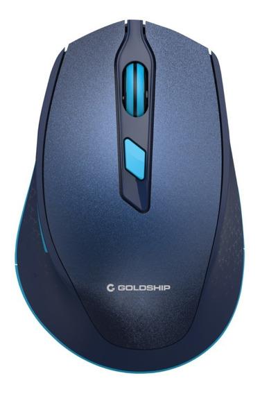 Mouse Sem Fio Wireless Mouse Galaxy Azul Mo-1541 Goldship