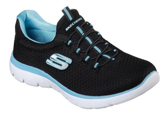 Zapatillas Skechers Memory Foam Mujer Summits - Ahora 12 -
