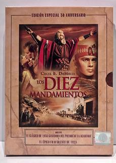 Los 10 Mandamientos 3 Dvd Edicion 50 Años Nueva Coleccion