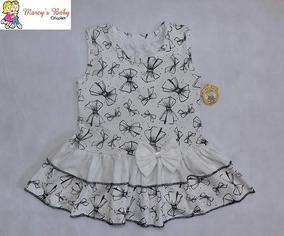Vestido Regata Costas Nadador Bebe, Menina Em Malha Infantil