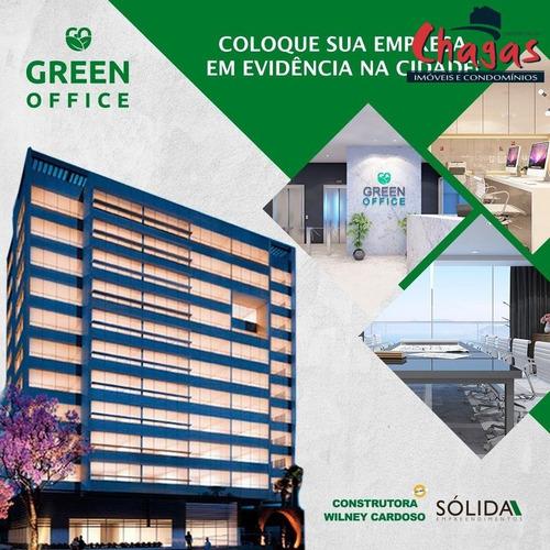 Imagem 1 de 7 de Green Office - Frente Mar Em Caraguatatuba - 1541