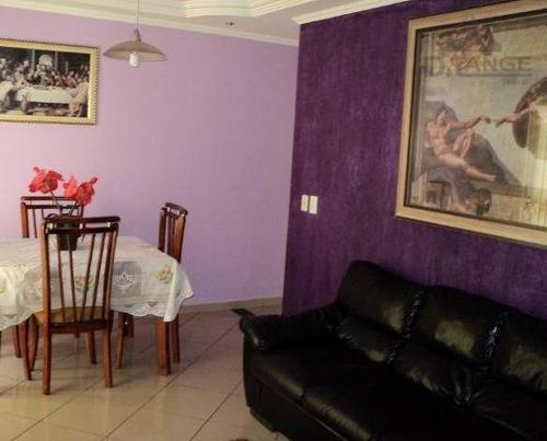 Imagem 1 de 5 de Apartamento À Venda, 62 M² Por R$ 370.000,00 - Loteamento Parque São Martinho - Campinas/sp - Ap8295