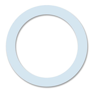 Cuisinox Gas-t4 4 Cup Replacement Gasket, White