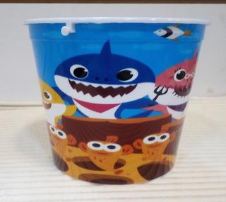 Tobitos Tiburón Bebe Baby Shark Centros D Mesa, Cotillones.