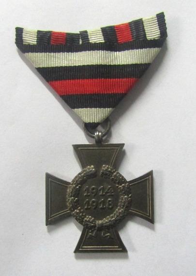 Alemania 1914 - 1918 Medalla Hinderburg 1 Guerra Mundial