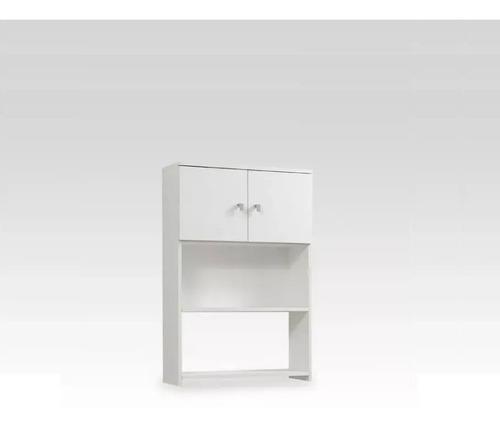 Mueble Sobre Inodoro Colgante Con 2 Puertas - Melamina