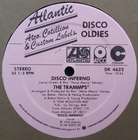 The Trammps - Disco Inferno Vinilo Maxi Made Usa Imperdible