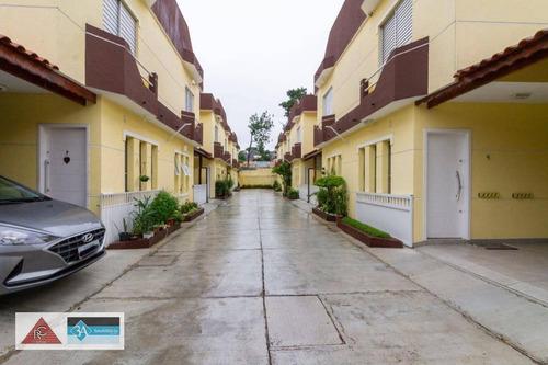 Imagem 1 de 26 de Sobrado Com 2 Dormitórios Em Condomínio Fechado - Vila Jacuí - São Paulo/sp - So1426