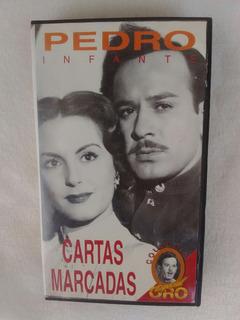 Pedro Infante Cartas Marcadas Video Vhs