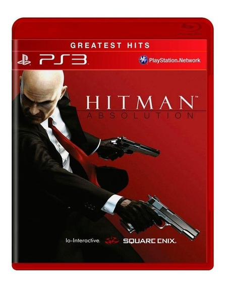 Hitman Absolution Ps3 Mídia Física Pronta Entrega