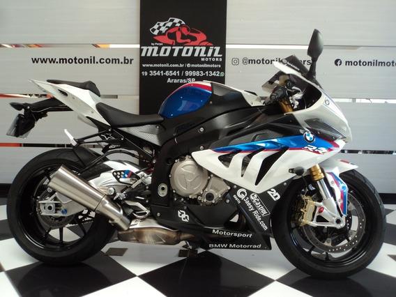 Bmw S 1000 Rr Full Branca Tricolor 2014