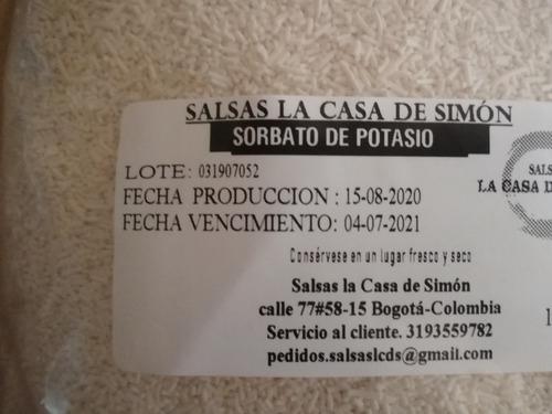 Imagen 1 de 2 de Sorbato De Potasio 250g - Unidad a $16000
