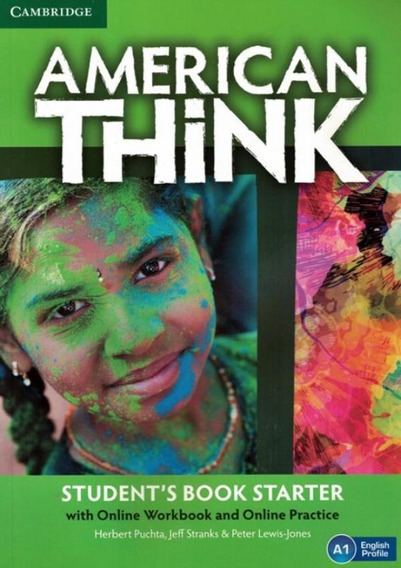 American Think Starter Student´s Book With Online Workboo