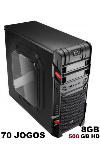 Cpu Gamer 8g Hd500 Corel Lol Fortnite Csgo Freefire Pes Apex