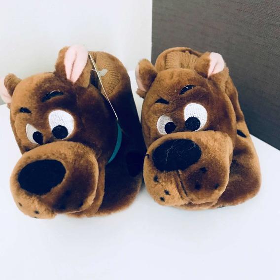 Pantuflas Peluche Scooby Doo Niño ( Unisex)