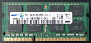 Memoria Sodimm Ddr3 8gb Laptop Samsung Pc3 12800s 1600mhz