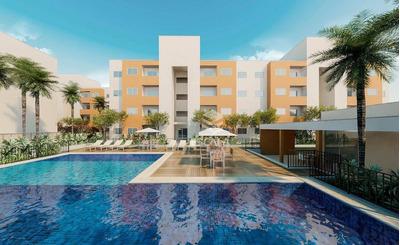 Apartamento Com 2 Quartos À Venda, 53 M², Suíte, 1 Vaga, Área De Lazer, Financia - Paumirim - Caucaia/ce - Ap1591