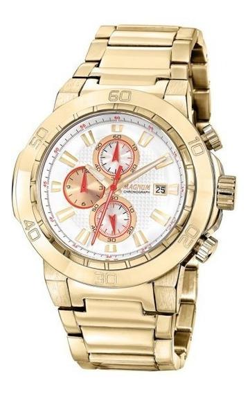 Relógio Masculino Magnum Com Cronógrafo Ma32376h