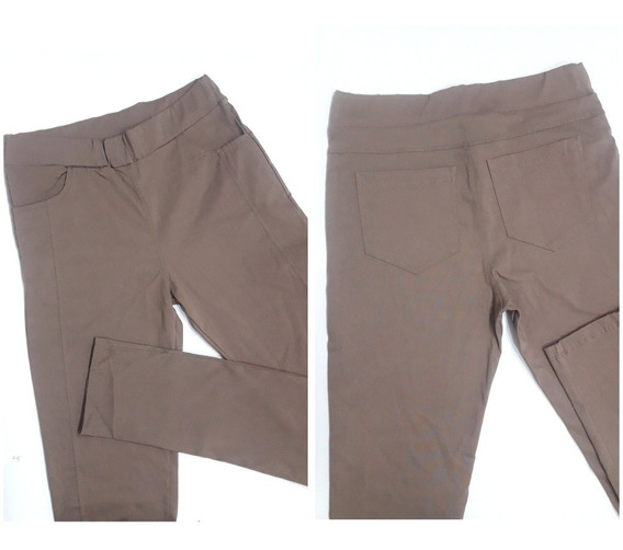 Pantalones Chupin Elastizados Uniforme Trabajo Comodos