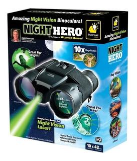 Binoculares Night Hero Atomic Bean 10x Importados