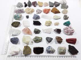 Coleção 10 Rochas E 36 Minerais Brutos E Naturais #8