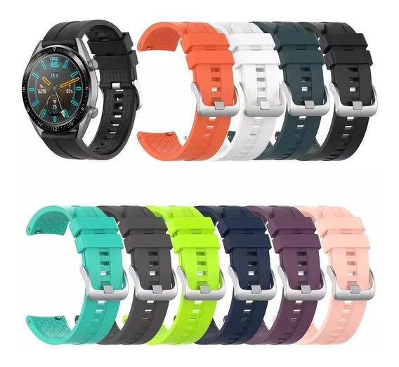 Correa De Silicon Extensible Para Huawei Watch Gt