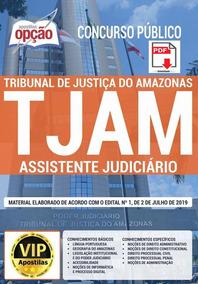 Apostila Assistente Judiciário Tjam 2019