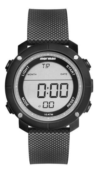 Relógio Mormaii Masculino Digital Esportivo Acqua Duo Preto