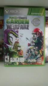 Jogo De Xbox360: Plants Vs Zombies - Garden Warfare. Fgrátis
