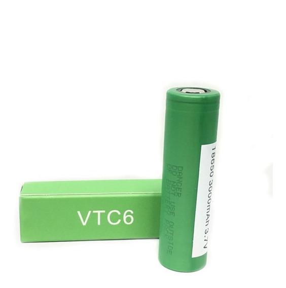 2 Baterias 18650 Vtc6 3000mah Recarregável Vaporizador Vape