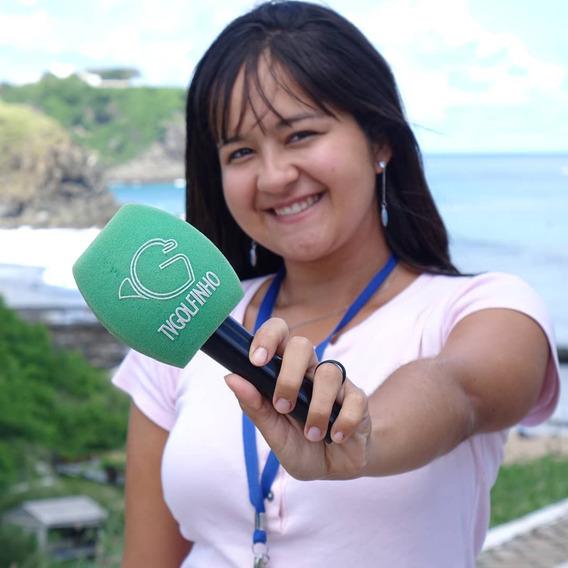 Microfone Da Tv Golfinho-cultura