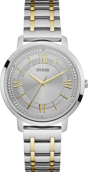 Relógio Guess Feminino Prata/dourado Analógico 92635lpgdba7