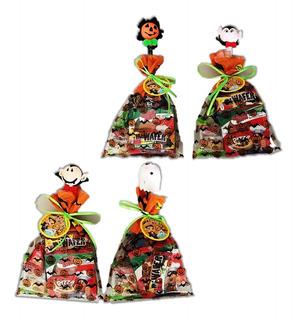 Bolsa Halloween Con Dulces Y Lápi - Unidad a $7700