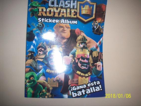 Clash Royale V.2.0. Album + Stickers Estampas Y Regalos