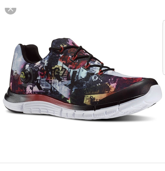 Zapatos Reebok Zpump Multicolor 100% Originales Caballero