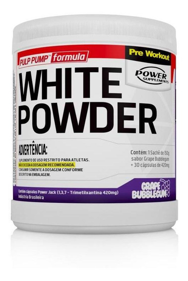 White Powder (150g + 30caps) Power Supplements - 40% Off