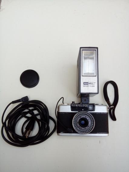 Antiga Câmera Olympus Ee 33, Made In Japan