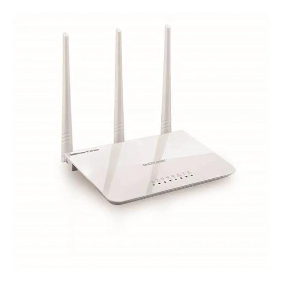 Roteador Três Antenas Branco Ipv6 300 Mbps - Multilaser