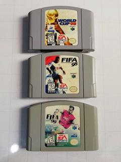 Combo Mundialista Futbol Fifa 98 99 World Cup France 98 N64