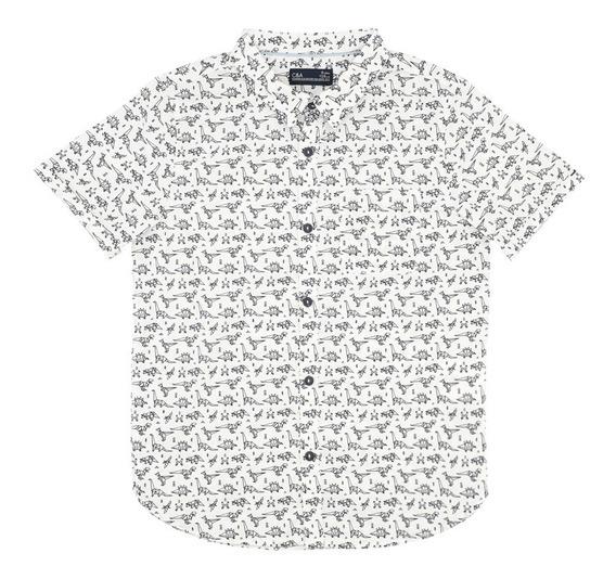Camisa Estampado Dinosaurio De Niño C&a (mod 1056155)