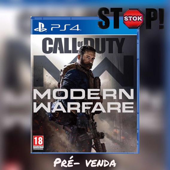 Call Of Duty Modern Warfare Ps4 - Original 1 - Pré Venda