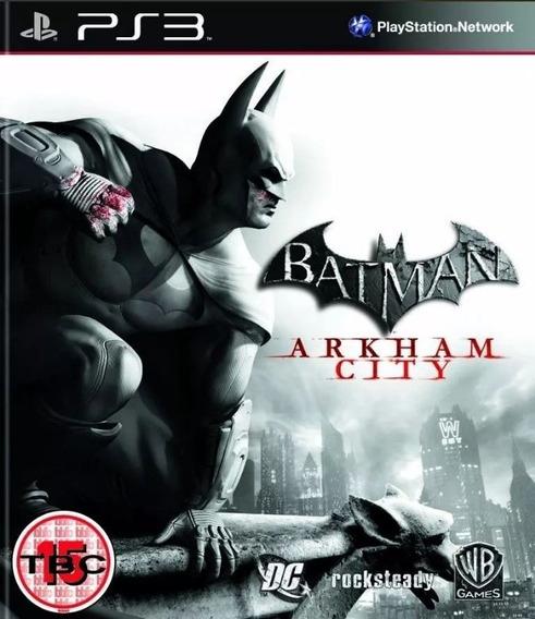 Batman Arkham City Ps3 Mídia Física Usado