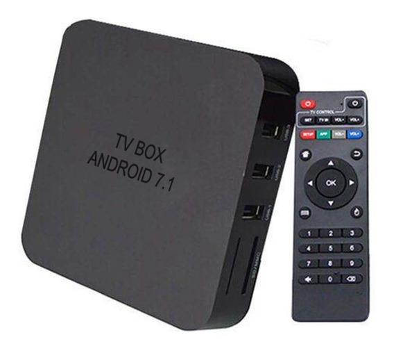 Tv Box Android 7.1 Smart Tv 2 Gb Ram 16gb Queima De Estoque